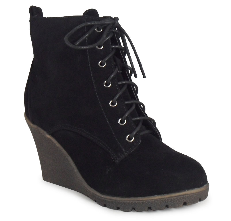 Women's Round Toe Lace Up Wedge Heels Suede Ankle Boots Booties. from $ 17 24 Prime. 4 out of 5 stars Thorogood. Men's American Heritage 6